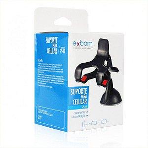 Suporte Veicular Universal Tipo Clip Duplo Até 7 Polegadas - EXBOM SP-20