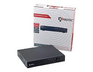 Dvr HD 8 Canais 5 Em 1 1080N P2p Cloud - JL Protec 7008
