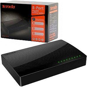 Switch 8 Portas Rj45 Gigabit 100/1000mbps - Tenda SG108