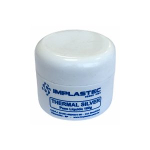 Pasta Térmica Com Prata Implastec Thermal Silver 100g