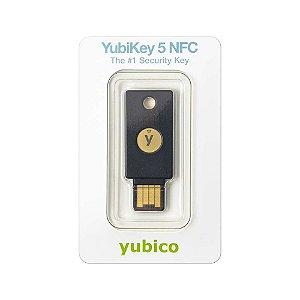 Chave De Segurança Yubico Yubikey 5 NFC Two-Factor Usb-A