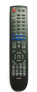 Controle Remoto Tv Home Theater E Dvd Samsung - 147