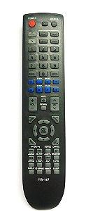 Controle Remoto Tv Home Theater E Dvd Samsung - 147