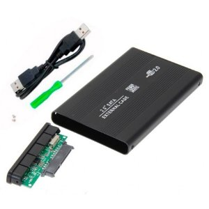 Case Gaveta Para Hd Sata 2.5 Externo Notebook - Usb 2.0