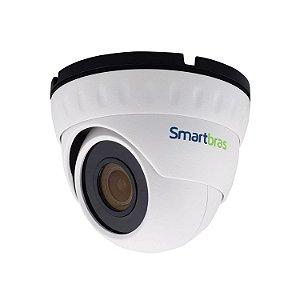 Câmera Dome 8Mp 4k 20m 2.8mm Sensor Sony 1/2.8 IP67  - Smartbras SB-8075D Prime