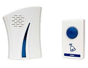 Campainha Residencial Wireless Sem Fio Alcance 100m - M-172A