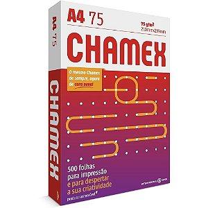 Papel Chamex A4 75g/m 210 x 297mm Office Branco 500 Folhas