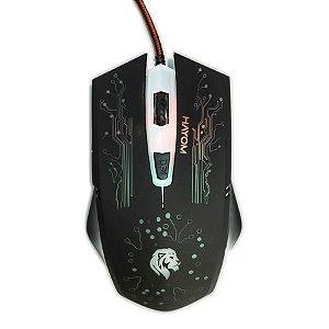 Mouse Gamer Led Rgb 6 Botões 2400dpi - Hayom MU2911