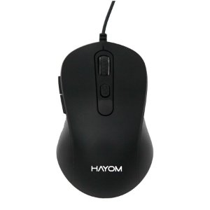 Mouse Usb Linha Office 6 Botões 2400dpi - Hayom MU2902