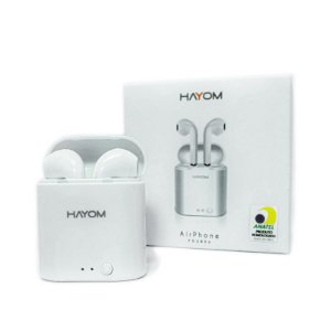 Fone De Ouvido Sem Fio TWS Bluetooth Airphone - Hayom Fo2806