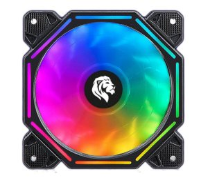 Cooler Fan Gamer Led Rgb 12X12CM -  HAYOM FC1303