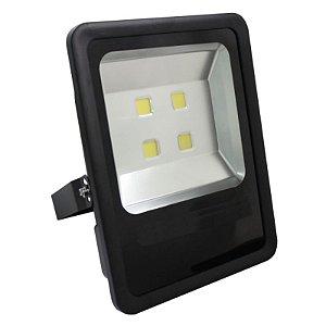 Refletor Led Holofote 200w Bivolt Prova D'água - Branco Frio