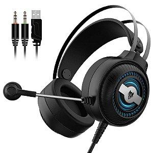 Headset Gamer Rgb Nubwo N1 Pro Over Ear - 3.5mm