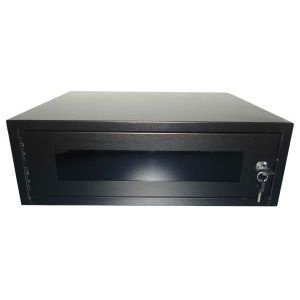 RACK MINI 19 03U X 300 MM PARA PAREDE PRETO