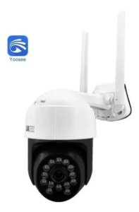 Câmera Mini Speed dome IP 2mp 3.6mm Auto Tracking - LKW-4020