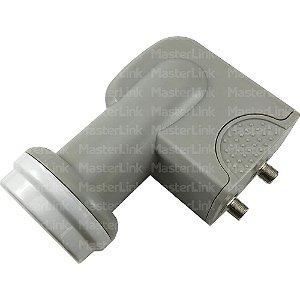 Lnb Duplo Banda Ku Universal 0,3 dB - Cabletech
