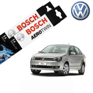 Kit Palheta Limpador Polo Sedan 2010-2014 - Bosch
