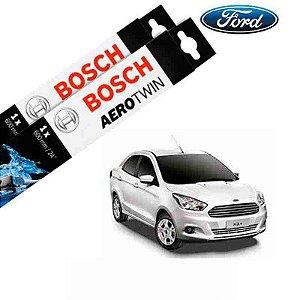 Kit Palheta Limpador Ka Sedan 2014-2016 - Bosch