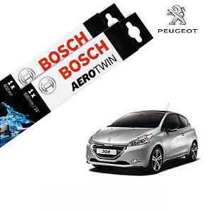 Kit Palheta Limpador 208 2013-2016 - Bosch