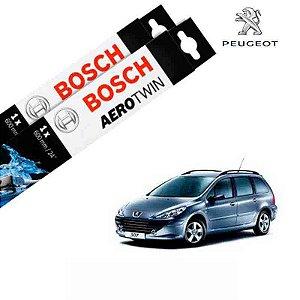 Kit Palheta Limpador 307 CC 2003-2004 - Bosch