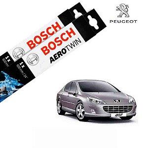 Kit Palheta Limpador 407 2004-2009 - Bosch