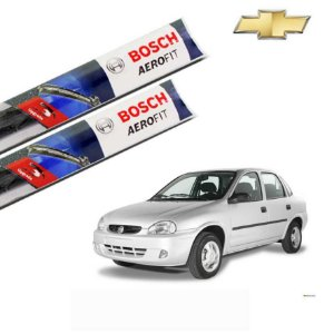 Palheta Limpador Parabrisa Corsa Sedan 1995-2002 Bosch Orig.