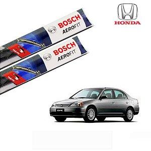 Palheta Limpador Parabrisa Civic 2001 a 2006 Original Bosch