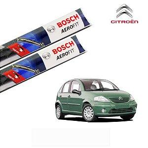 Palheta Limpador Parabrisa C3 2003 a 2012 Original Bosch
