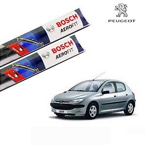 Palheta Limpador Parabrisa 206 1998 a 2009 Original Bosch