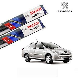 Palheta Limpador Parabrisa 207 Sedan 2008-2016 Bosch Orig.