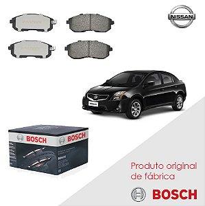 Pastilha freio Diant. Bosch Cerâmica Sentra 2.0 Flex 09 a 13