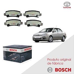 Pastilha Bosch Cerâmica Corolla Fielder 1.8i 16V 04-07 Tras