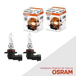 Lâmpada Asx 2011 a 2013 HB3 Farol Alto Original Osram Par