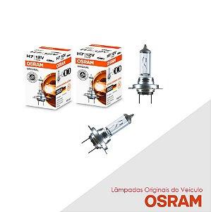 Lâmpada SpaceCross 2012 a 2013 H7 Farol Baixo Orig Osram Par