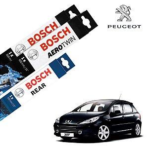 Palheta Limpador Parabrisa Diant+Tras 307 2006-2012 Bosch
