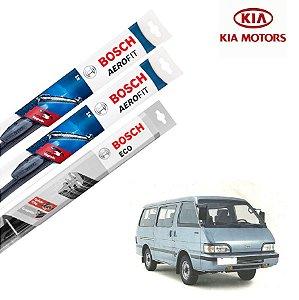 Palheta Limpador Parabrisa Diant+Tras Besta 1993-1998 Bosch