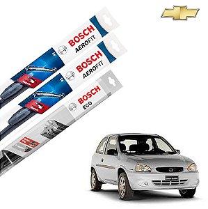 Palheta Limpador Parabrisa Diant+Tras Corsa 1994-2005 Bosch