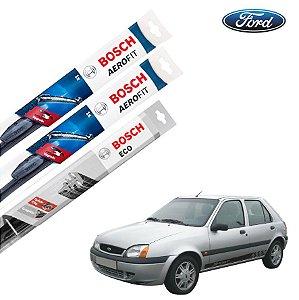 Palheta Limpador Parabrisa Diant+Tras Fiesta 1991-2001 Bosch