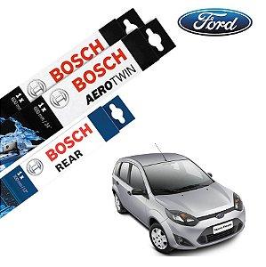 Palheta Limpador Parabrisa Diant+Tras Fiesta 2011-2014 Bosch