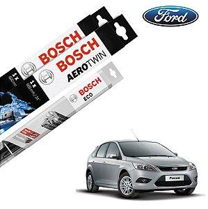 Palheta Limpador Parabrisa Diant+Tras Focus 2008-2009 Bosch