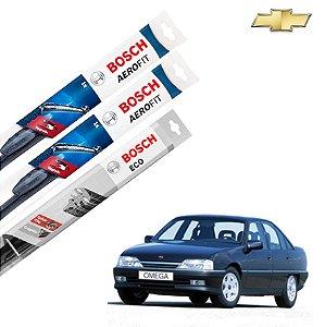 Palheta Limpador Parabrisa Diant+Tras Omega 1992-1997 Bosch