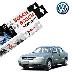 Limpador Parabrisa Dian+Tras Passat Variant 2001-2004 Bosch