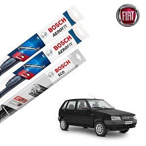 Palheta Limpador Parabrisa Diant+Tras Uno Mille 1984-2010