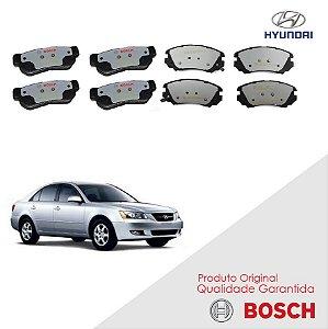 Pastilha freio diant. tras Sonata 2003 a 2005 Bosch Cerâmica