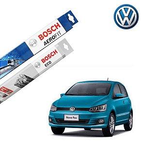 Palheta Limpador Parabrisa Diant+Tras Fox 2012 a 2017 Bosch