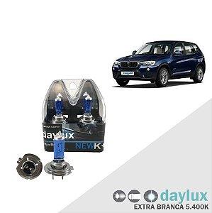 Lâmpada Super Branca BMW X3 04-16 H7  F.Baixo Xenôn Look