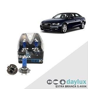 Lâmpada Super Branca Audi A4 09-13 H7 Farol Alto Xenôn Look