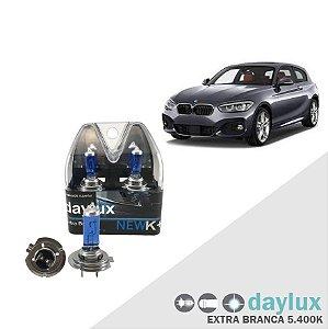 Lâmpada Super Branca BMW 118i 09-13 H7 Farol Alto Xenôn Look
