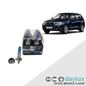 Lâmpada Super Branca BMW X3 04-16 H1 Farol Alto Xenôn Look