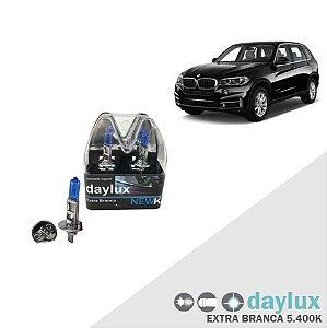 Lâmpada Super Branca BMW X5 03-16 H1 Farol Alto Xenôn Look